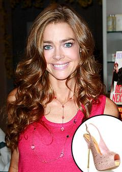 Denise Richards Creates Sexy High Heels for ShoeDazzle