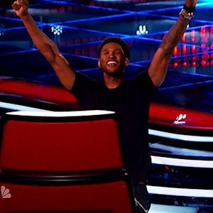 "Usher Unveils New Word on ""The Voice."""