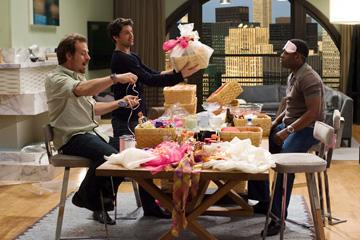 Richmond Arquette , Patrick Dempsey and Kadeem Hardison in Columbia Pictures' Made of Honor