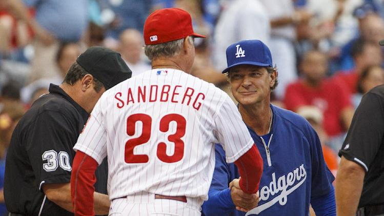 Red-hot Dodgers beat Sandberg, Phillies 4-0