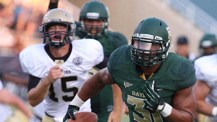 Seastrunk, Petty lead Baylor past Wofford 69-3