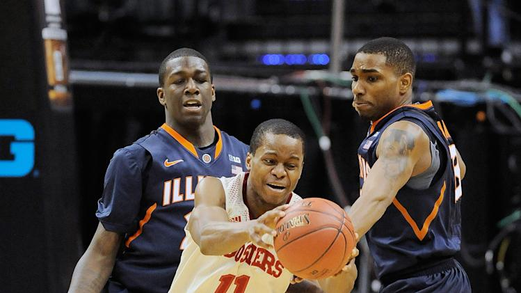 NCAA Basketball: Big Ten Tournament-Illinois vs Indiana