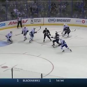 Eddie Lack Save on Ryan Reaves (17:38/2nd)