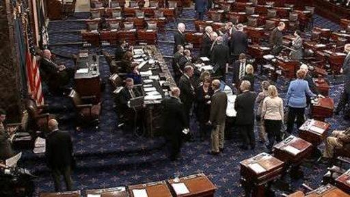 Senate Votes On Compromise Fiscal Cliff Package