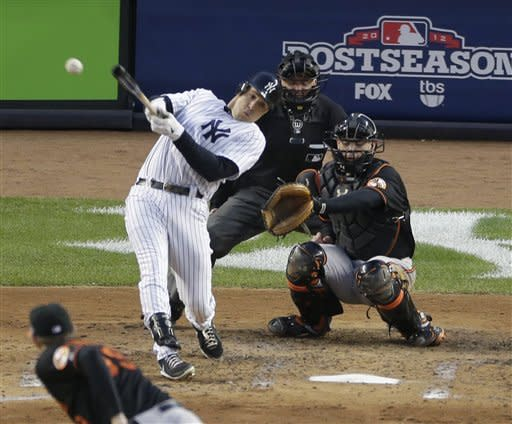The right stuff: Yanks beat O's, advance to ALCS