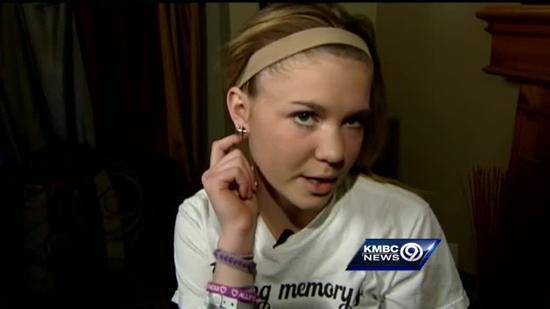 Teen recovering after being shot in head 1 year ago