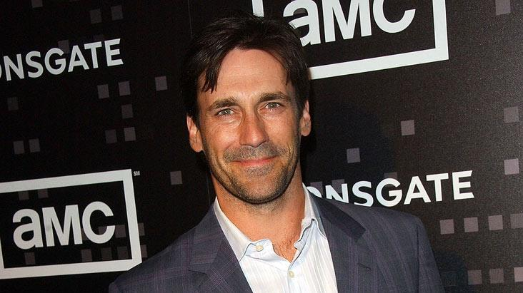 "Jon Hamm arrives for AMC's ""Mad Men"" Celebration for SAG, WGA and DGA Nominations on January 25, 2008 at The Chateau Marmont in West Hollywood, California."