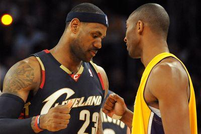 LeBron James is sad he never faced Kobe Bryant in the NBA Finals