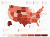 Average U.S. Credit Health and Debt in 2013, by State (Infographic)