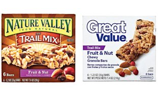 Nature Valley vs. Great Value