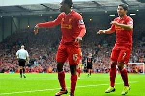 Sturridge enjoying 'great chemistry' with Suarez for Liverpool