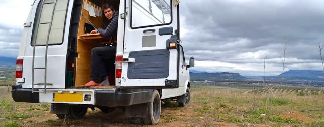 Man quits job to live out of his van, see the world