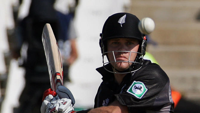 Former New Zealand cricketer Lou Vincent during a match in South Africa, September 19, 2007