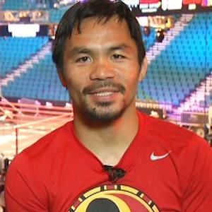 Pacquiao: I'm not worried, not nervous about Mayweather