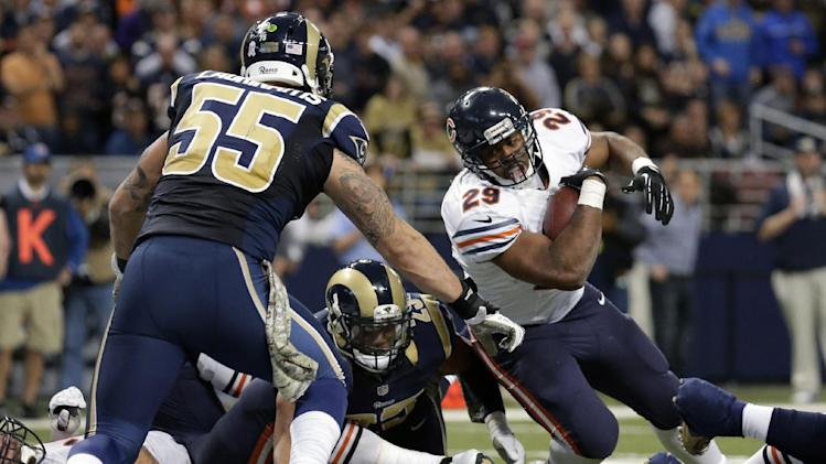 No extra pressure for Bears offense