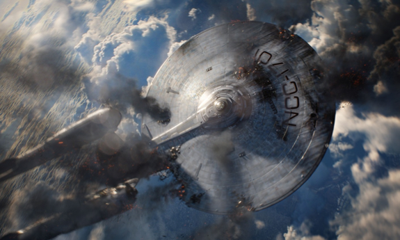 Mind Meld! Astronauts Meet 'Star Trek Into Darkness' Stars in Webcast Today