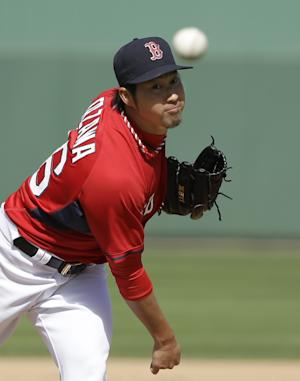 Ortiz ends 0-for-8 start; Red Sox beat Braves 4-1