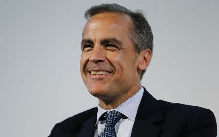 Bank of England Governor Carney speaks at the Commonwealth Games Business Conference in Glasgow, Scotland