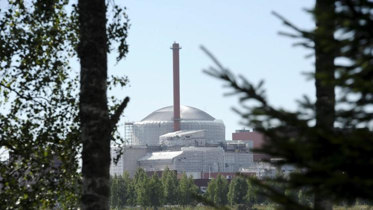 The Olkiluoto 3 (OL3) nuclear power plant, which is under construction, is pictured in Eurajoki