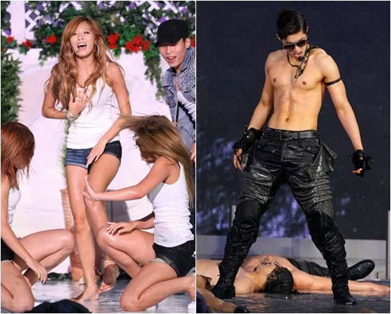 [20′s Choice Awards] The Best Performances at the 20's Choice Awards: Hyuna, Kim Hyun Joong, Lee Hyori, UV