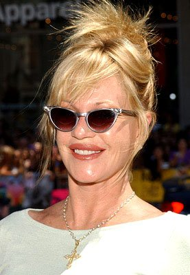 Melanie Griffith at the LA premiere of Warner Bros. Pictures' Charlie and the Chocolate Factory