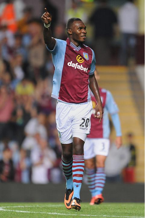 Soccer - Capital One Cup - Second Round - Aston Villa v Rotherham United - Villa Park