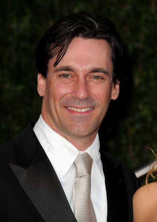 Jon Hamm arrives at the 2010 Vanity Fair Oscar Party Hosted By Graydon Carter at Sunset Tower on March 7, 2010 in West Hollywood, California.