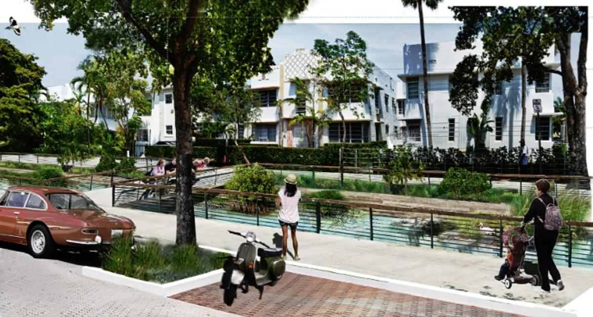 Can an Innovative Plan of Stilts and Canals Save South Beach From Rising Sea Levels?