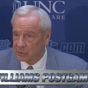 UNC's Roy Williams On Disappointing Loss to Rival NC State
