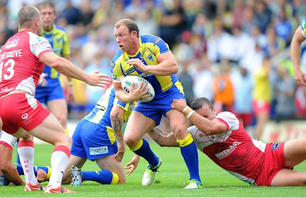 Rugby League - Super League - Warrington Wolves v Hull KR - Halliwell Jones Stadium