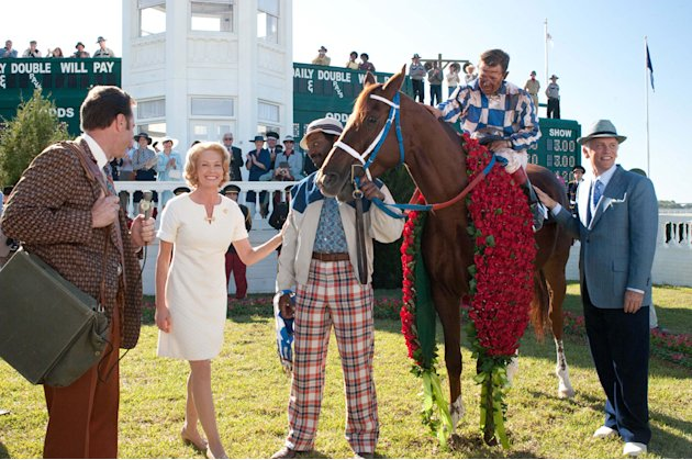 Secretariat Walt Disney Pictures 2010 Diane Lane Nelsan Ellis OttoThorwarth John Malkovich