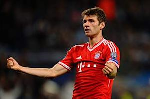 Thomas Muller: 'Beautiful' Arsenal on par with Bayern
