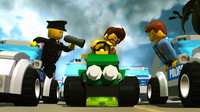 """This publicity photo provided by Nintendo/TT Fusion shows a scene from the video game, """"Lego City Undercover."""" (AP Photo/Nintendo/TT Fusion)"""