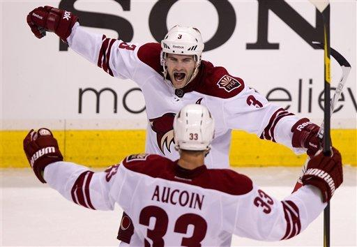 Canucks beat Coyotes 2-1 in overtime