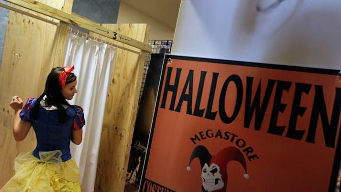 Halloween Stores Prepare For The Holiday