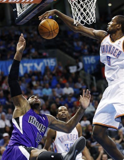 Oklahoma City routs Sacramento 115-89