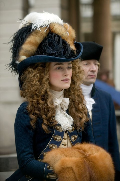 Keira Knightley The Duchess Production Stills Paramount Vantage 2008