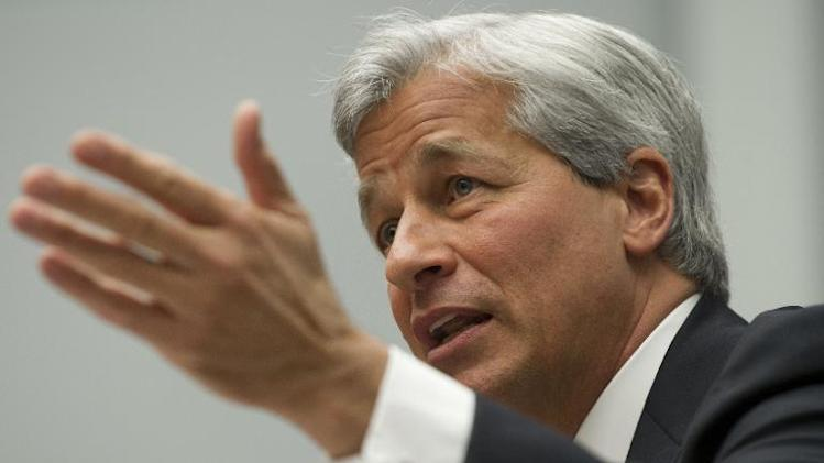 JPMorgan Chase Chairman and CEO Jamie Dimon testifies during a US House Financial Services Committee hearing on Capitol Hill in Washington, DC on June 19, 2013