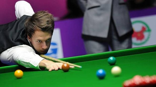 Judd Trump en route to winning the International Championship
