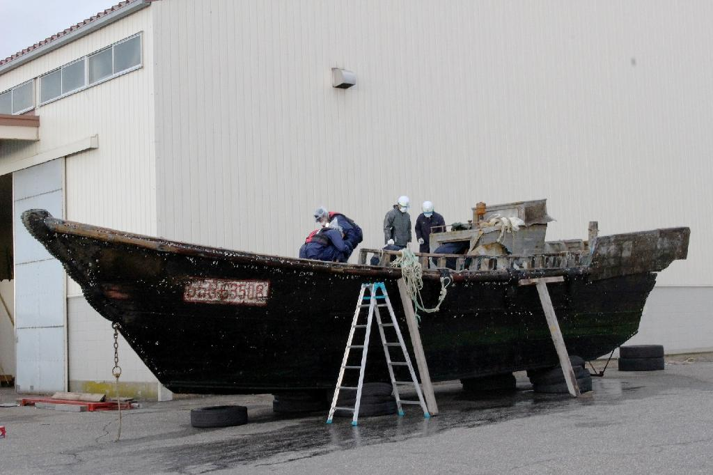 Suspicious boats with decomposed bodies found drifting off Japan