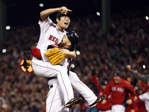 red sox koji uehara David Ross