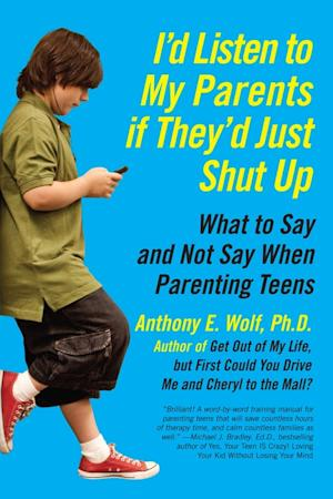 """In this book cover image released by Harper, """"I'd Listen to My Parents if They'd Just Shut Up: What to Say and Not Say When Parenting Teens,"""" by Anthony E. Wolf, is shown. Call it entitled child syndrome, the chronic gimmes or just plain spoiled. The lament is a familiar one for many well-meaning parents year round but intensifies at the holidays, especially among older kids who crank up gift demands but can't be coaxed off the couch to give back.   (AP Photo/Harper)"""