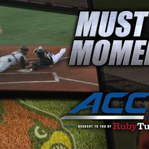 Louisville's Corey Ray Steals Home For Walk-Off Win | ACC Must See Moment