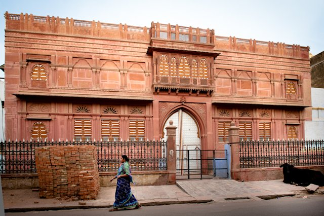 The walled city of Bikaner