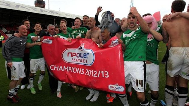 James Coppinger's injury-time winner ensured Doncaster were crowned npower League One champions