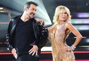 Joey Fatone, Kym Johnson | Photo Credits: Adam Taylor/ABC