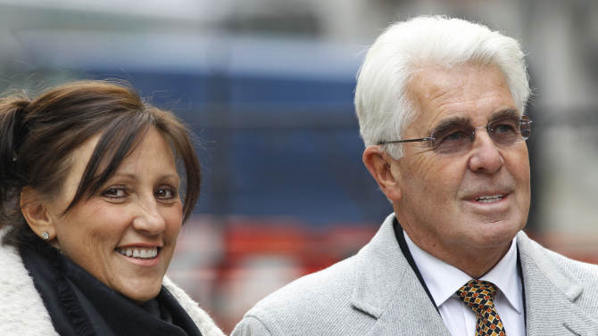 UK publicist Max Clifford arrested in sex case
