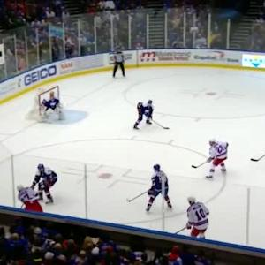 Jaroslav Halak Save on Ryan McDonagh (15:58/2nd)