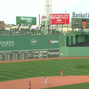Marisnick's spectacular catch