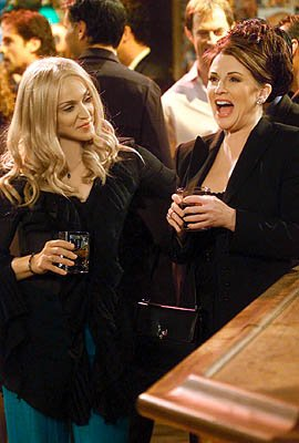 Madonna and Megan Mullally on NBC's Will and Grace